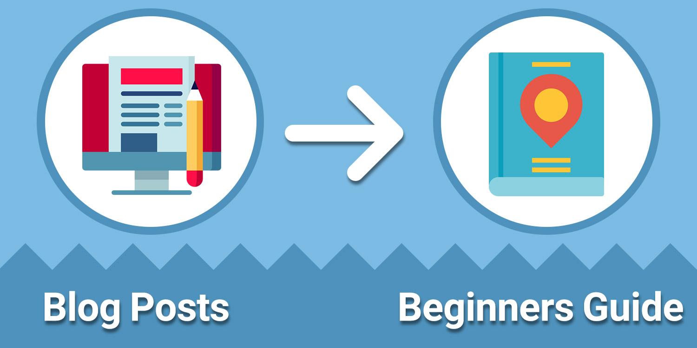 تبدیل پست به دفترچه راهنما - بازنویسی محتوا