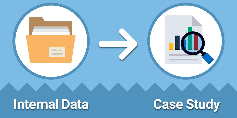تبدیل آمار و دادهها به مطالعه موردی - بازنویسی محتوا