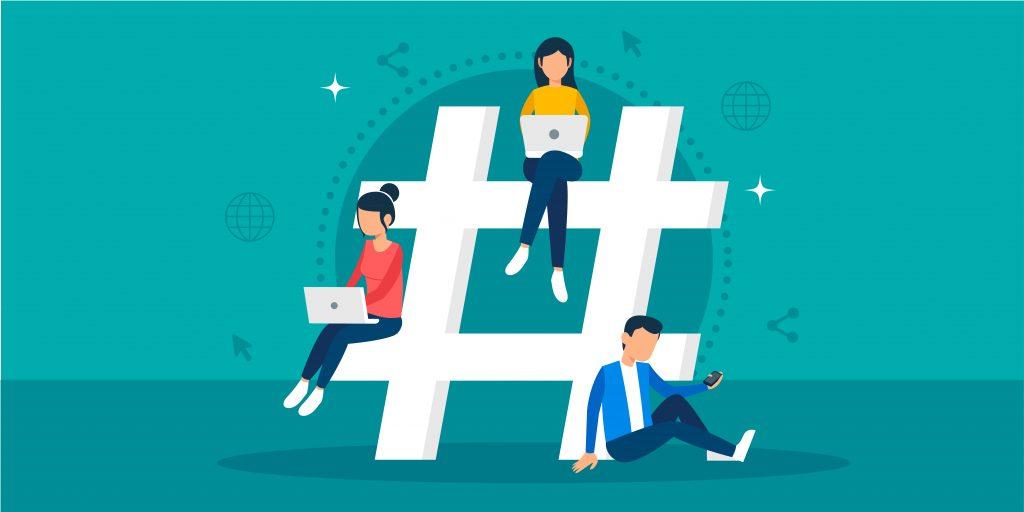 هشتگ در شبکه های اجتماعی
