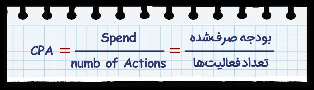 فرمول محاسبه CPA تبلیغات در جستجو