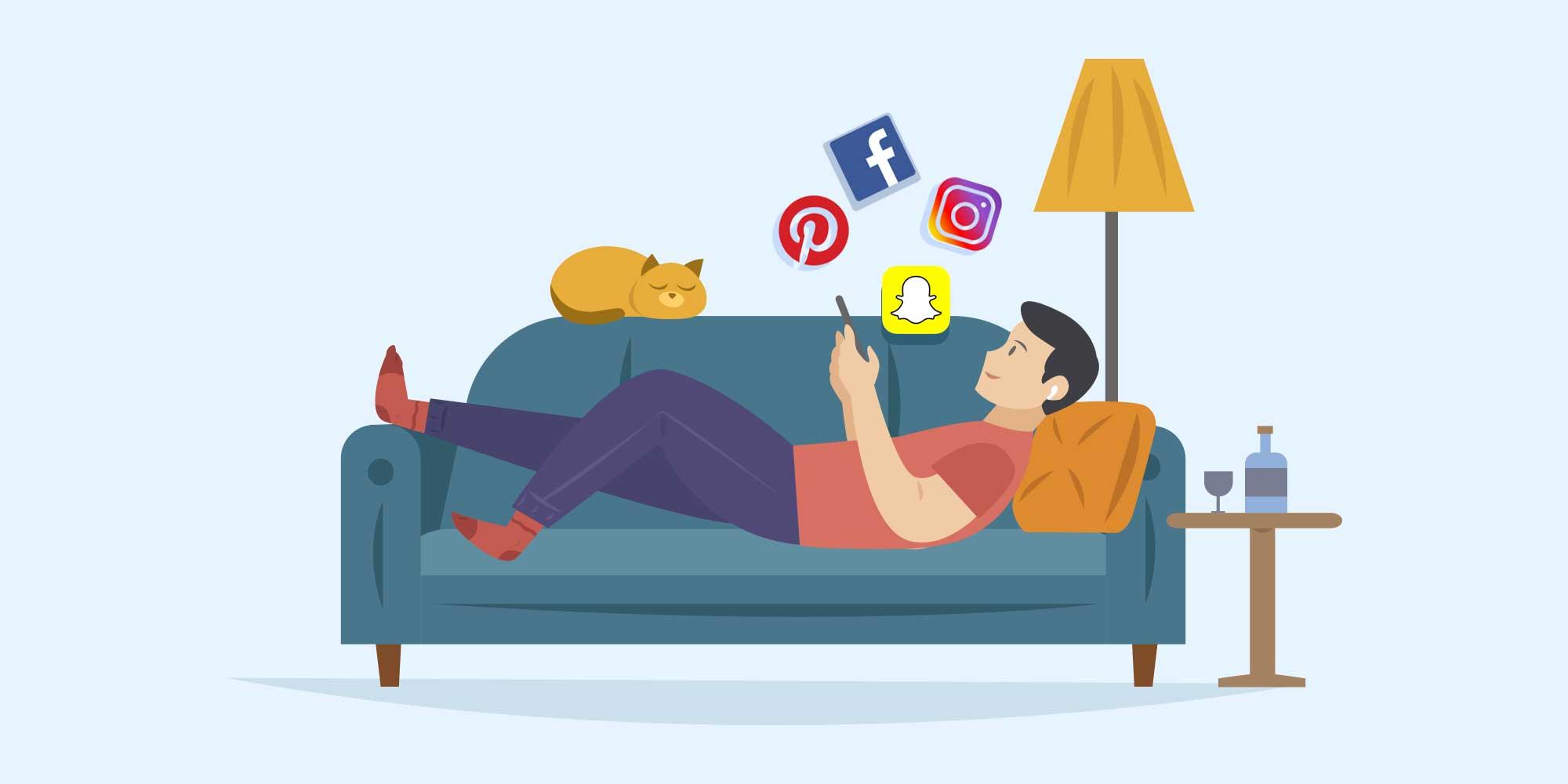 نقش اپلیکیشنهای شبکههای اجتماعی در دوران کرونا