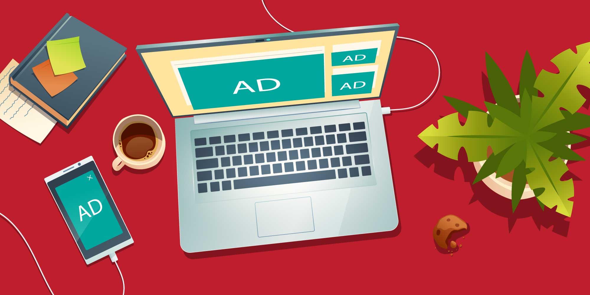 تخصص در تبلیغات