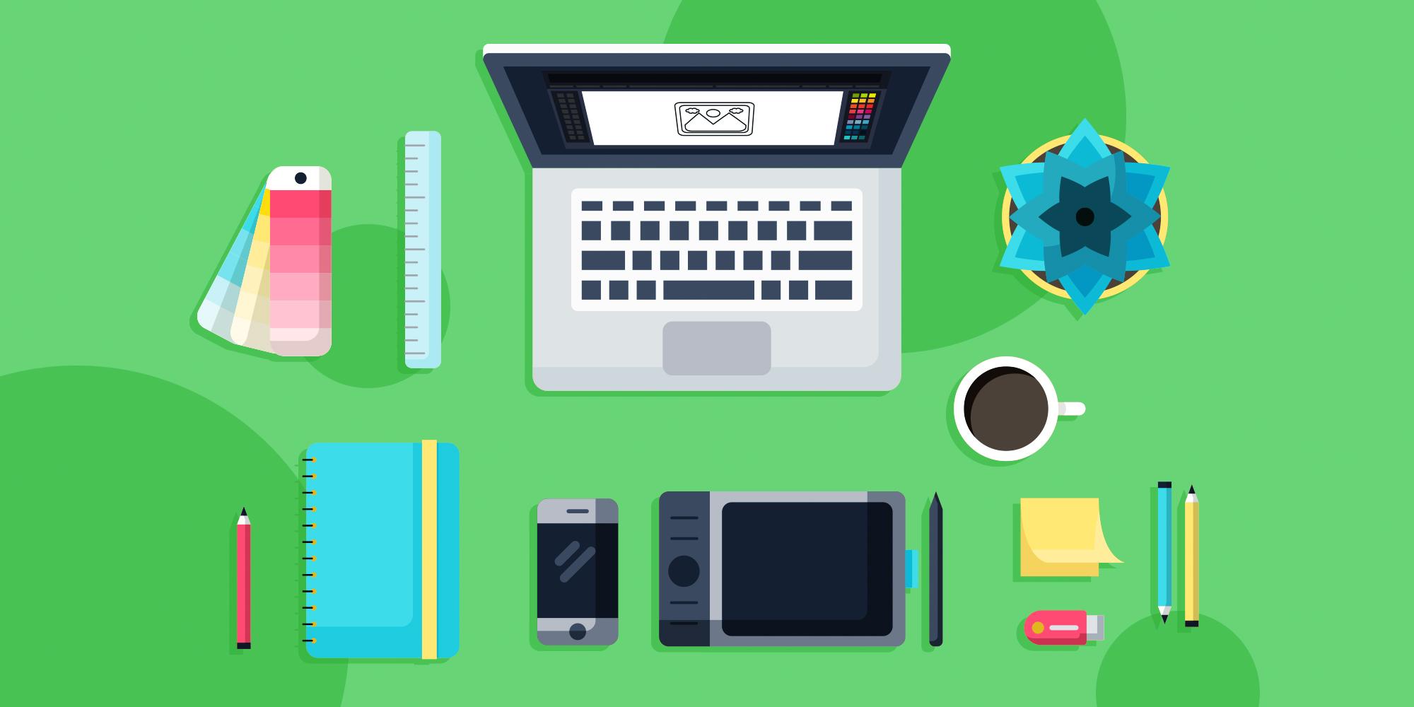 ابزارهای گرافیکی دیجیتال مارکترها